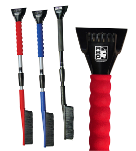 Telescopic Ice Chisel Snowbrush